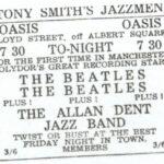 Presentación en el Oasis Club de Manchester
