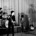Los Beatles tocan en Francia