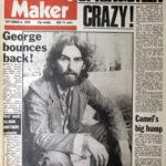 """George promociona """"Extra Texture"""" en el Melody Maker y habla de todo"""