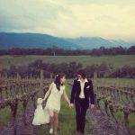 George Harrison y Olivia Arias se casan