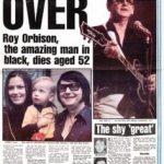 Muere Roy Orbison