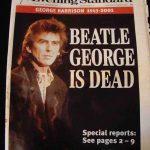 George Harrison ha muerto