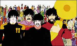 We all live in a Yellow Submarine!