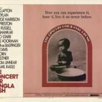 """George Harrison lleva a cabo los shows del mítico """"Concierto para Bangladesh"""""""