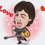 "Paul McCartney tiene sticker en ""Line"""
