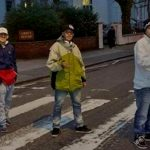 Los Wachiturros cruzan Abbey Road