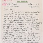 Carta de John se subasta en $28,000
