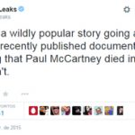 Wikileaks niega tener documentos sobre una supuesta muerte de Paul