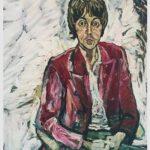 Dos retratos de Paul McCartney pintados por John Bratby son expuestos por primera vez