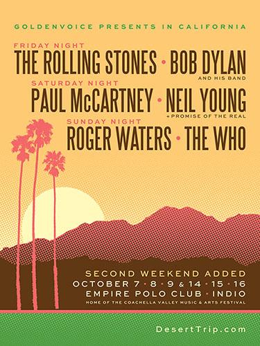 "Paul McCartney se presenta en el ""Desert Trip"""