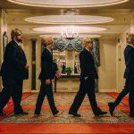 The Trump Beatles, una banda callejera se burla de Trump con gran gusto musical