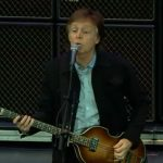 Paul McCartney en el Estadio Nib de Australia