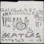 Encuentran boceto de John Lennon de la portada del Sgt. Pepper's