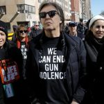 McCartney marcha en contra de los incidentes con armas, recordando a Lennon