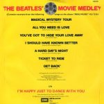 "El single ""The Beatles Movie Medley"" se edita en UK"