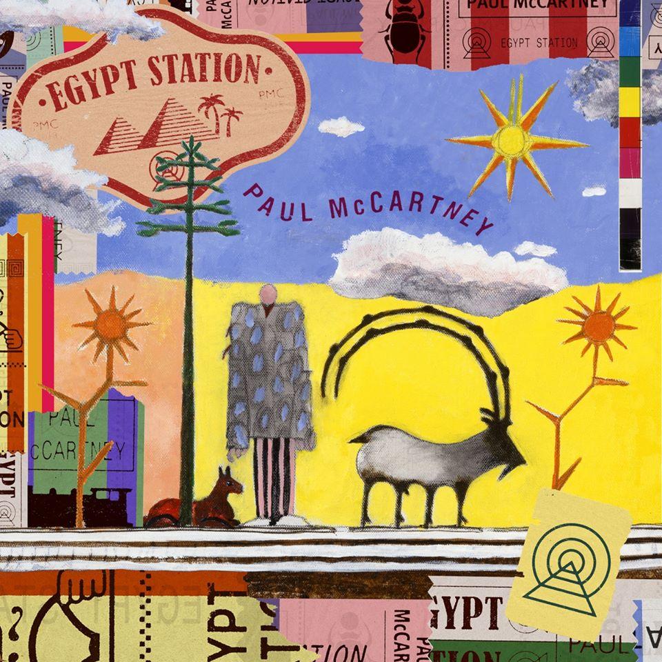 Lanzamiento del disco Egypt Station, de Paul McCartney