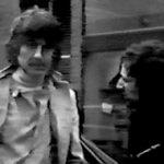 George Harrison brinda declaraciones poco antes de accidentarse