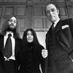John Lennon y Yoko Ono se reúnen con el Primer Ministro canadiense Pierre Trudeau