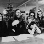 John pasa un tiempo en Dinamarca junto a Yoko y Tony Cox
