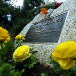 Los escarabajos destruyen un homenaje a George Harrison