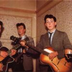 Paul, John y George tocan juntos en la boda de un familiar