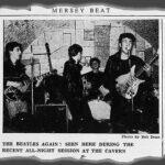 Los Beatles se presentan en Liverpool y el Mersey Beat publica cartas de sus fans