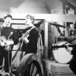 Ensayos de los Beatles para programa de Tv