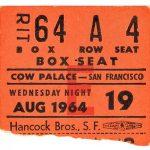 Presentación en el Cow Palace de San Francisco