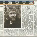 Muere Harry Nilsson, amigo íntimo de John y Ringo