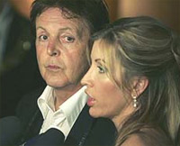 El divorcio de Paul McCartney ya es una guerra