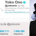 [El Comercio] ¿Sabes quién sigue al mayor número de cuentas en Twitter? Yoko Ono