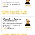 Paul McCartney arrasa con los Grammys