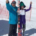 Heather Mills obtiene un récord en velocidad sobre esquís