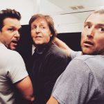 Paul McCartney, Dane Cook... y una sesión de fotos en el baño