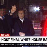Paul McCartney participó de la cena de despedida de Barack Obama