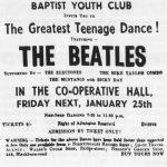 Los Beatles tocan en el baile de la iglesia bautista