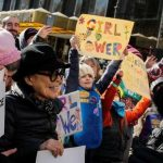 Yoko Ono se suma a marcha de las mujeres, en USA