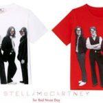 """Stella McCartney diseña camisetas para el """"Red Nose Day"""", con la imagen de Los Beatles"""