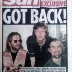 Paul, Ringo y George aparecen juntos nuevamente, en la portada de The Sun