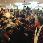 Paul McCartney ya se encuentra en Japón