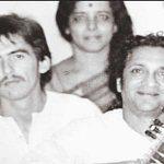 George Harrison conoce a Ravi Shankar