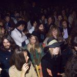 George, Ringo y John acuden al concierto de Bob Dylan