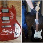 Detienen al ladrón de guitarras firmadas por McCartney, Springsteen y Clapton