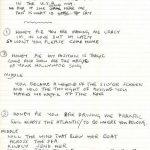 Subastan manuscrito de Honey Pie y fracasan con el de Maxwell's Silver Hammer