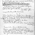 Subastan manuscrito de Lucy in the Sky with Diamonds