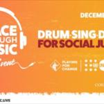 Ringo Starr participa en un evento por la justicia social